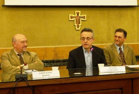 Giovanni Rossi, Mario Catania, Mimmo Vita