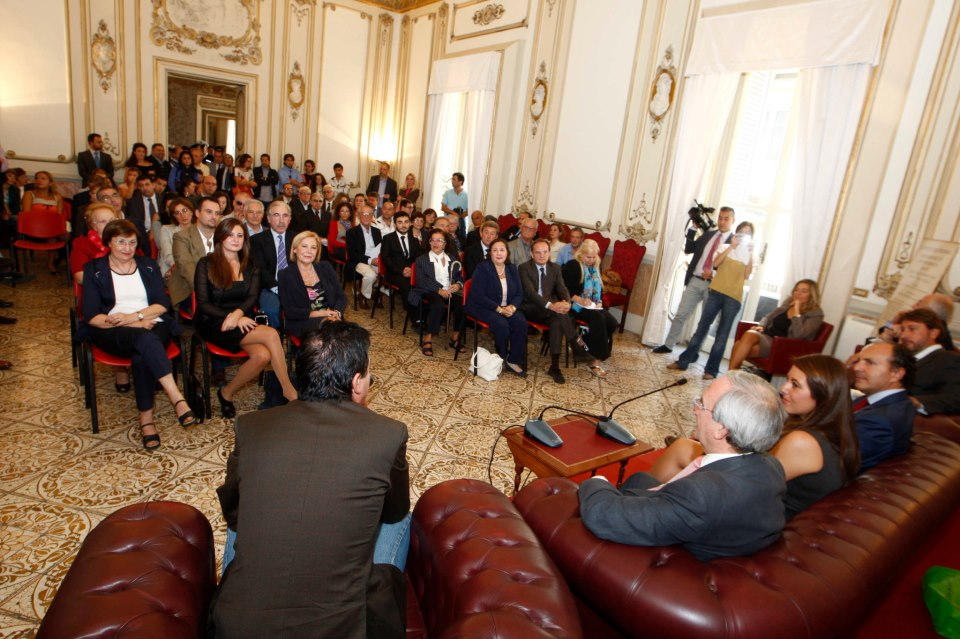 La cerimonia di consegna del Premio Francesco Landolfo 2012