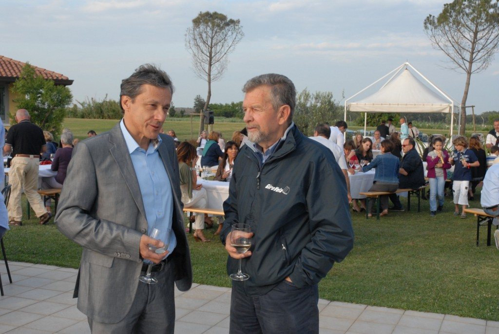 Carlo Morandini con Cino Ricci