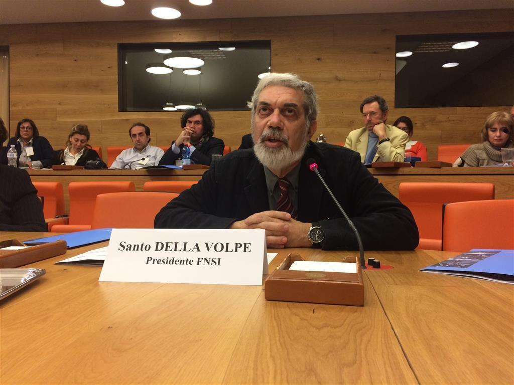 Santo Della Volpe al Consiglio Nazionale Unaga alla FAO del 10 aprile 2015