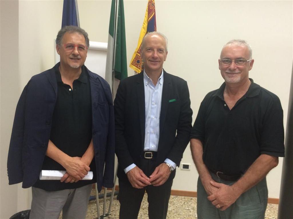 Mimmo Vita, Giuseppe Pan, Efrem Tassinato