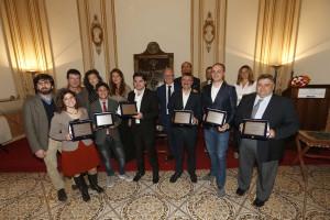 I premiati del Premio Landolfo 2015