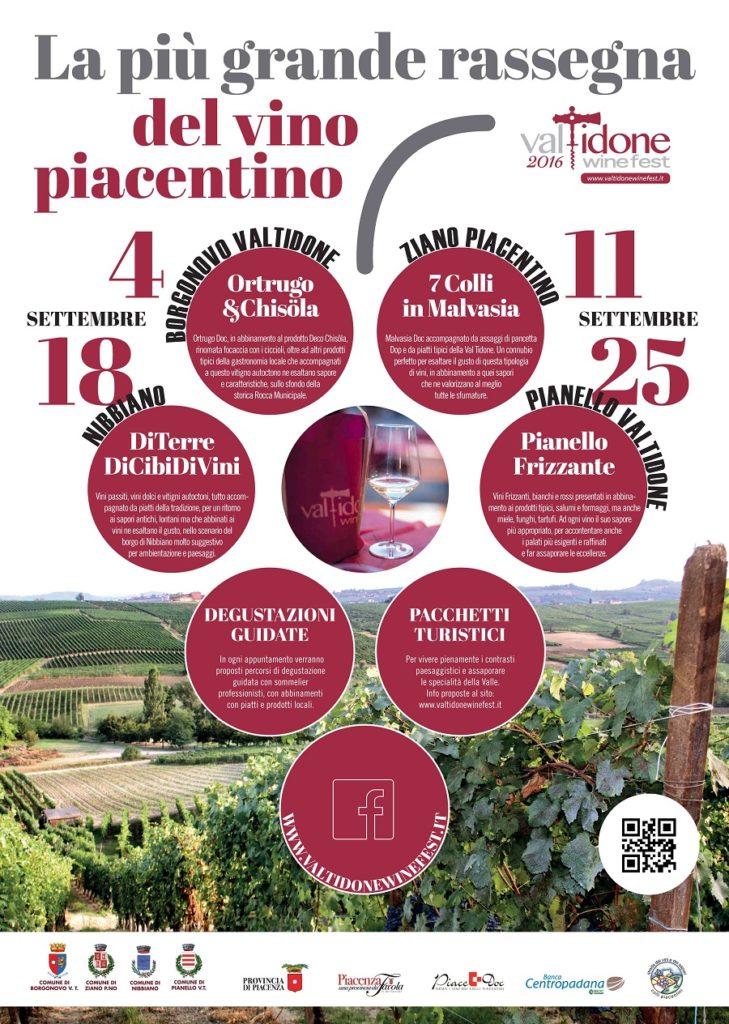 Locandina ridotta Valtidone wine fest 2016