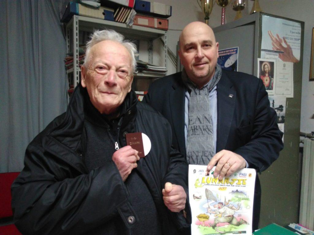 Da sinistra: Don Stellerino D'Annibale e Donato Fioriti (foto di Nicola Cinquino)