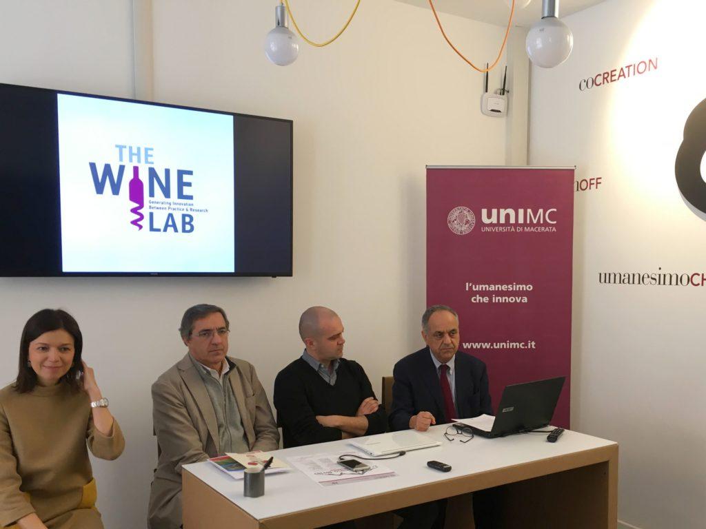 Francesca Spigarelli, Roberto Gaudio, Alessio Cavicchi e Francesco Adornato