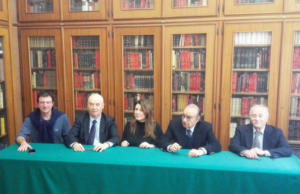 Nella foto da sinistra: Lucarelli, Zalambani,Landolfo, Maffei, Necco
